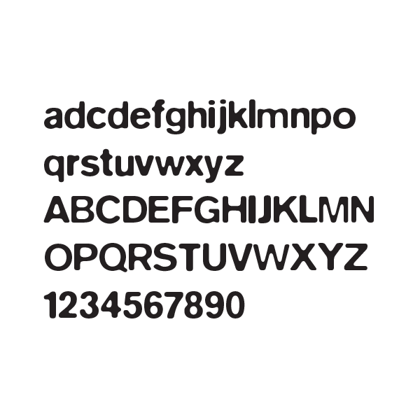 Recycle Everywhere - Logo Font