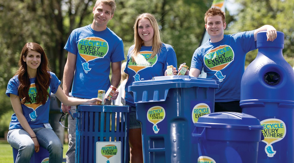 Recycle Everywhere - Promotional Team