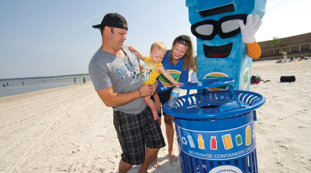 Recycle Everywhere - Mascot