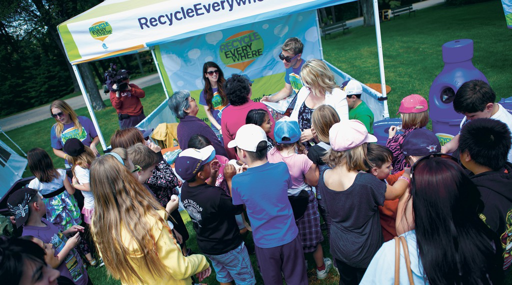 Recycle Everywhere - Promotional Event