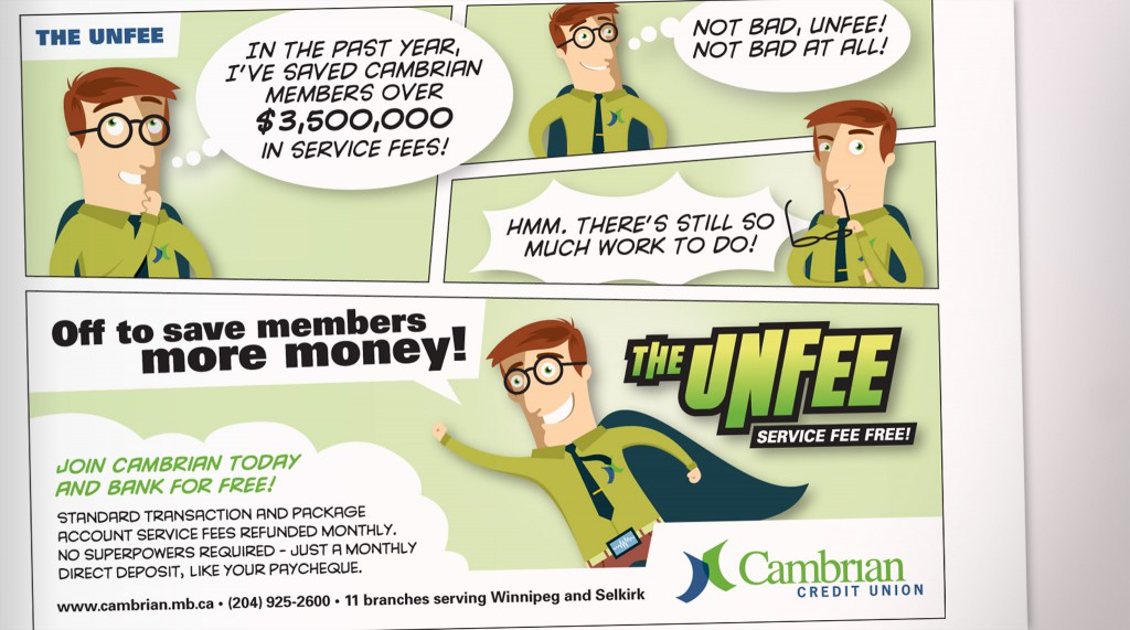 Cambrian Credit Union - The Unfee Newspaper Advertisement