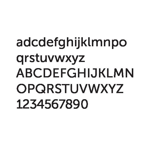 4R Winnipeg - Logo Font