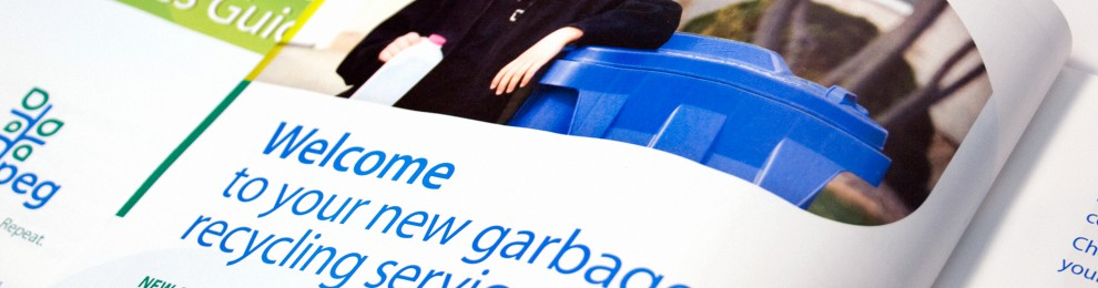 Winnipeg rolls out new recycling and garbage services