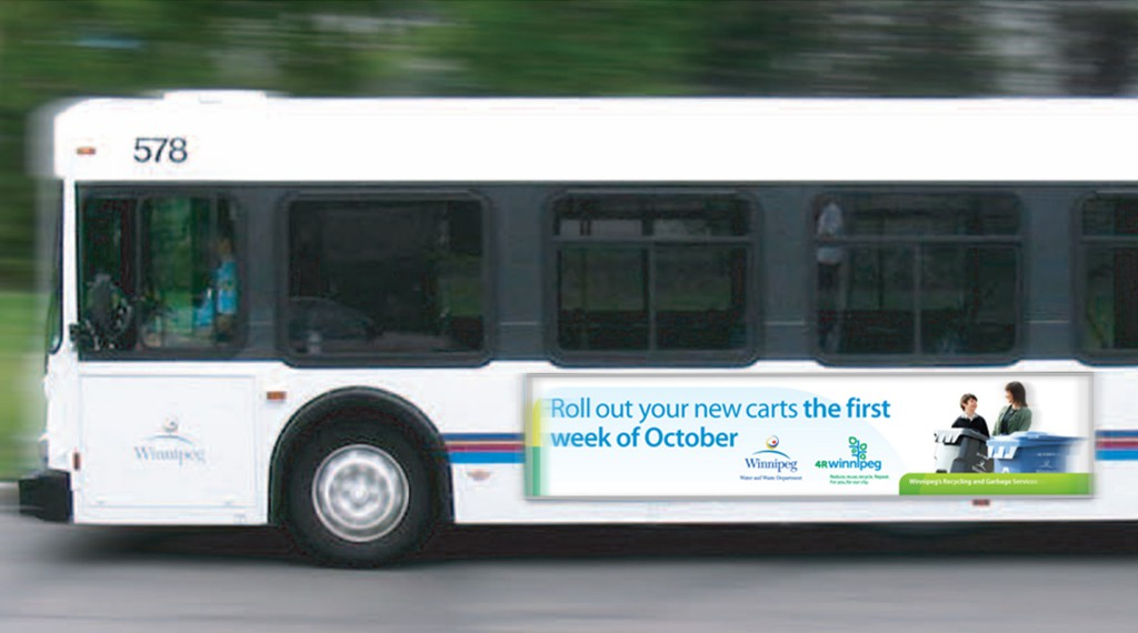 4R Winnipeg - Transit Advertisement
