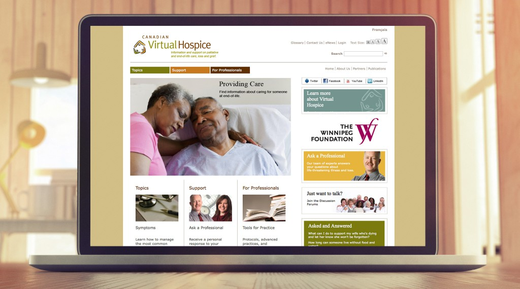 Canadian Virtual Hospice Website