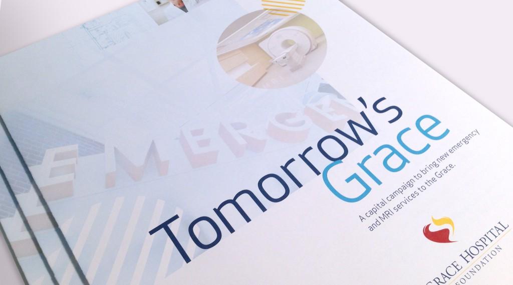 Grace Hospital Foundation - Tomorrow's Grace Brochure Cover