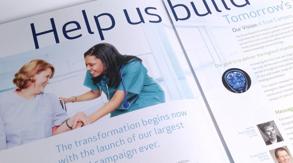 Grace Hospital Foundation - Tomorrow's Grace Brochure Detail