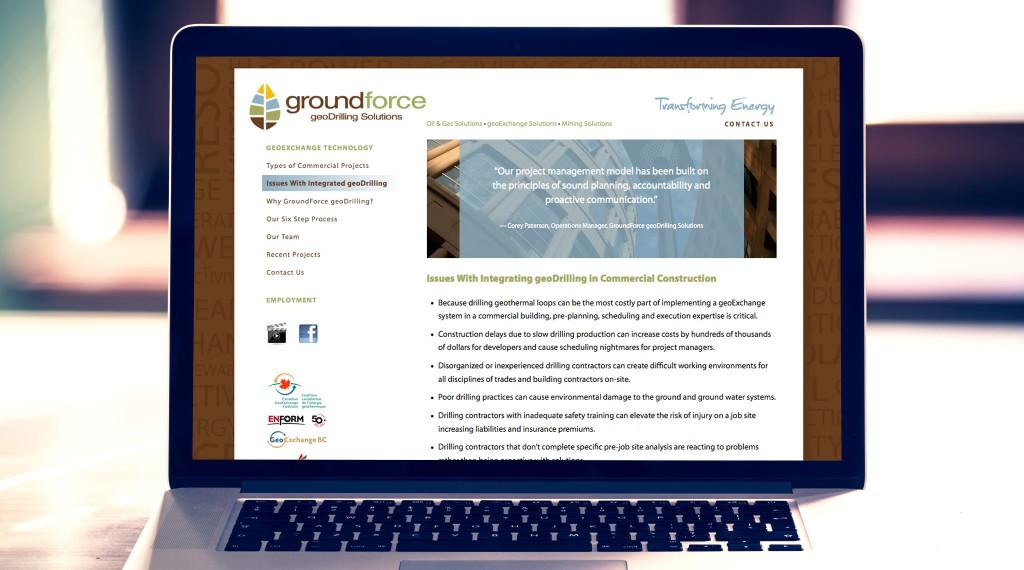 Groundforce Website