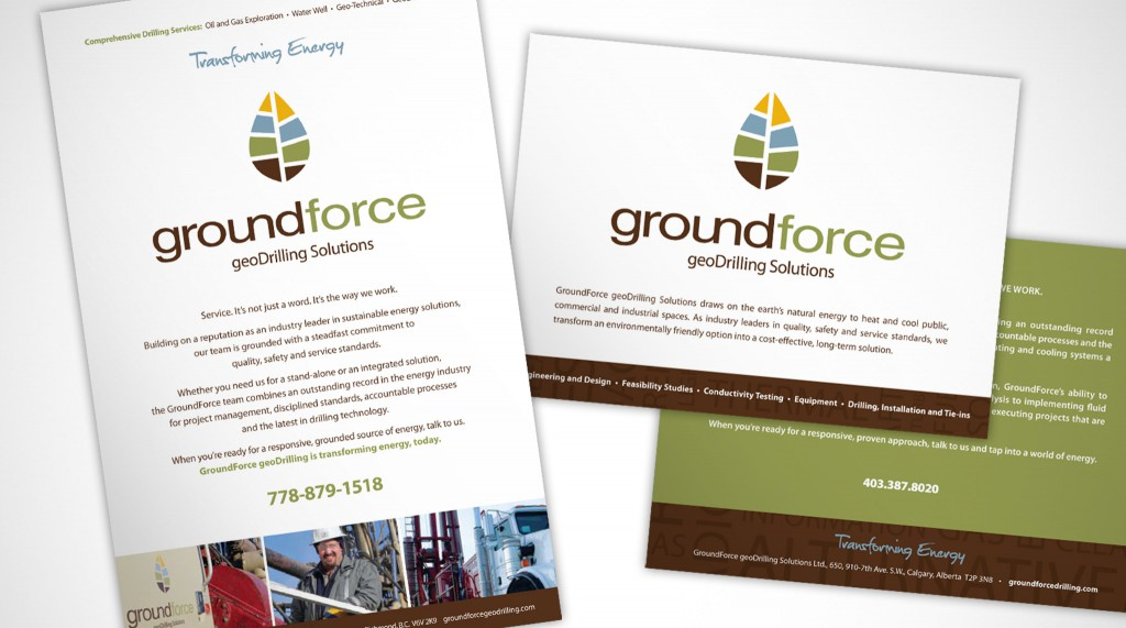 Groundforce - Printed Materials