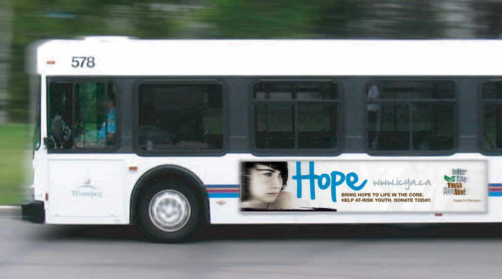 Inner City Youth Alive - Transit Advertisement