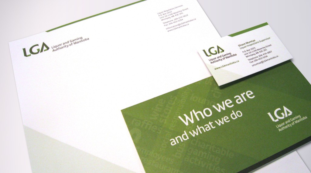 LGA Manitoba - Stationery