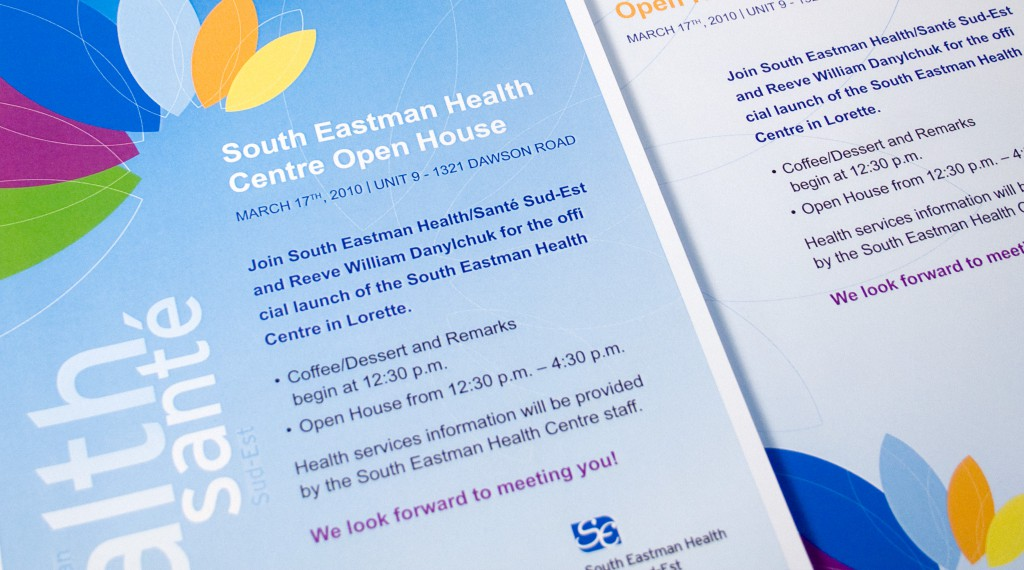 South East Regional Health Authority - Event Posters