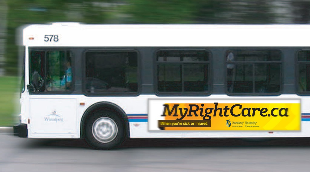 My Right Care - Transit Advertisement