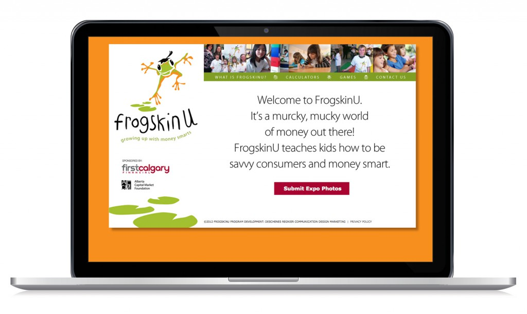 FrogskinU Website