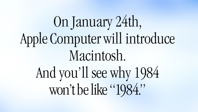 Apple's 1984 Commercial