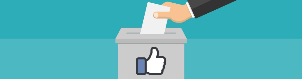 Political campaigns using Facebook