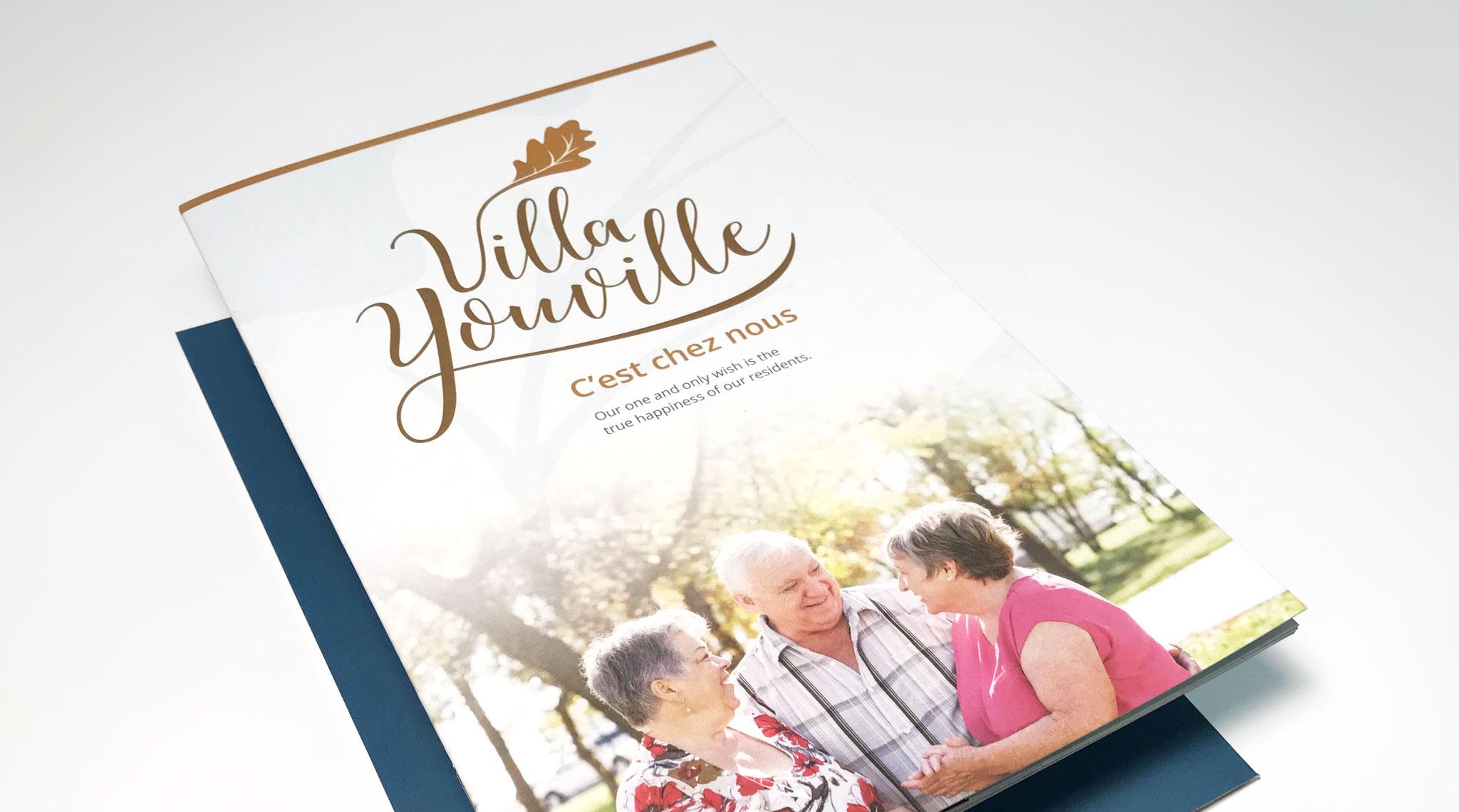 Villa Youville Brochure Cover