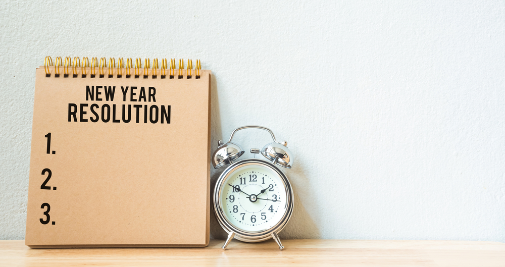 New Year's Resolution – Again!